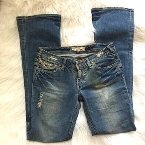J &Company Roberson Jeans, Distressed denim for sale